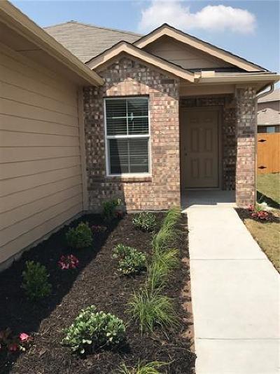 Manor Single Family Home Pending - Taking Backups: 12106 Jamie Dr