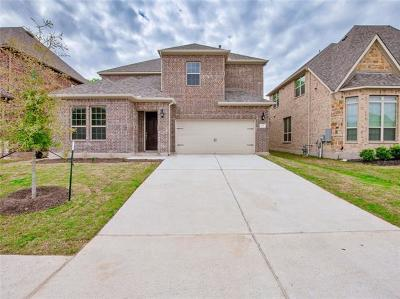Leander Single Family Home For Sale: 428 Mistflower Springs Dr