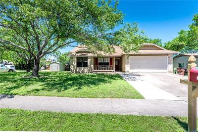 Round Rock Single Family Home For Sale: 3114 Freemont St