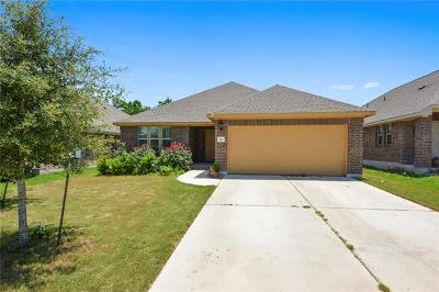 Leander Single Family Home For Sale: 544 S Brook Dr