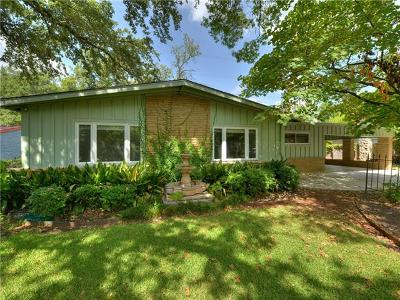 Austin Single Family Home For Sale: 4812 Westfield Dr
