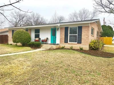 Travis County Single Family Home Pending - Taking Backups: 7710 Meadowview