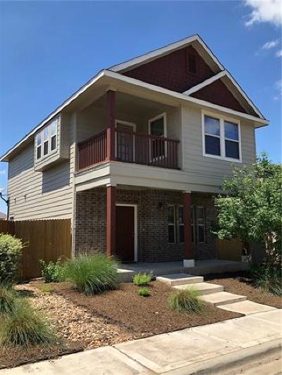 Austin Single Family Home For Sale: 4612 Inicio Ln #398
