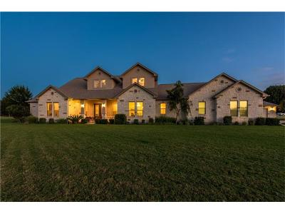 Burnet County Single Family Home For Sale: 100 River Bend Dr