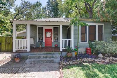 Austin Single Family Home Pending - Taking Backups: 3101 Prado St