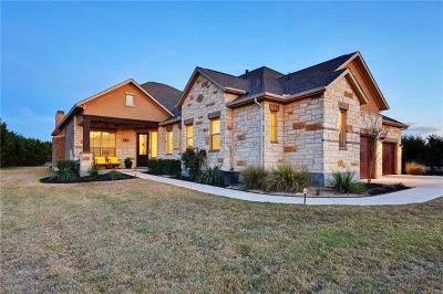 Dripping Springs Single Family Home For Sale: 163 Heritage Hollow Cv