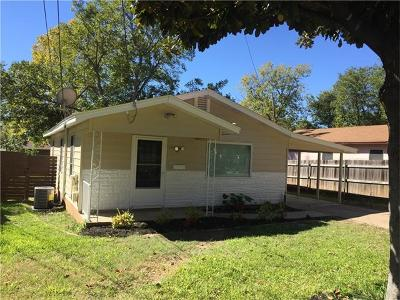 Single Family Home For Sale: 4705 Oak Cliff Dr