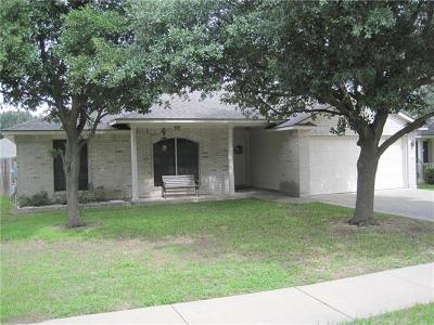 Round Rock Single Family Home For Sale: 2323 Vernell Way