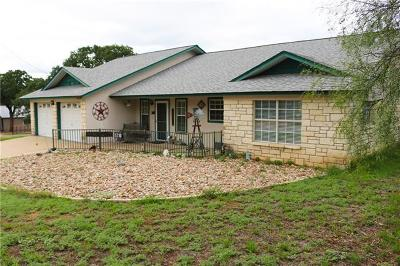 Burnet County Single Family Home For Sale: 1710 County Road 118