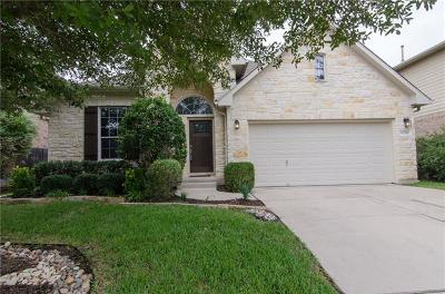 Round Rock Single Family Home Pending - Taking Backups: 2516 Charolais Ct
