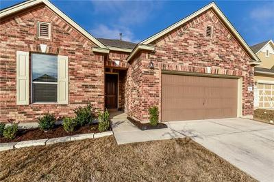 Round Rock Single Family Home For Sale: 6124 Mantalcino Dr