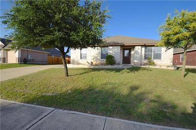 Pflugerville Single Family Home For Sale: 18605 Jana Patrice Dr