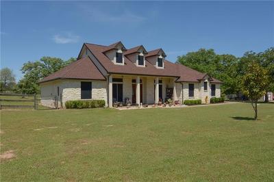 Smithville Single Family Home Pending - Taking Backups: 122 La Reata Trl