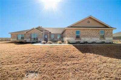 Salado Single Family Home For Sale: 4313 Green Creek Dr