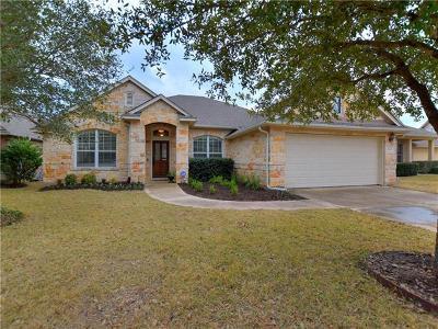 Cedar Park Single Family Home For Sale: 3602 Turkey Path Bnd