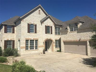 Leander Single Family Home For Sale: 1005 Overlook Bnd