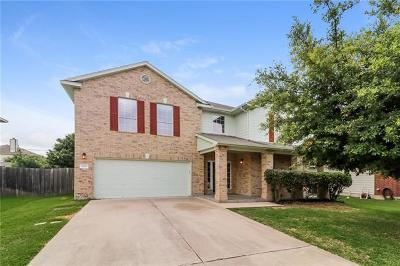Hutto Single Family Home For Sale: 1109 Concan Dr
