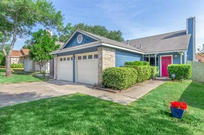 Travis County Single Family Home Pending - Taking Backups: 1816 Rainy Meadows Dr