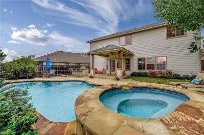 Round Rock Single Family Home For Sale: 3049 Bent Tree Loop