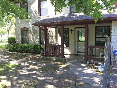 Burnet Single Family Home For Sale: 116 Thomas Ridge Rd