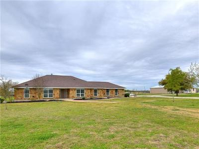 Williamson County Single Family Home Active Contingent: 10820 Fm 971