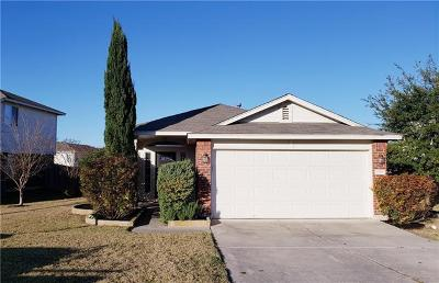 Pflugerville Single Family Home For Sale: 1520 Tea Leaf Dr