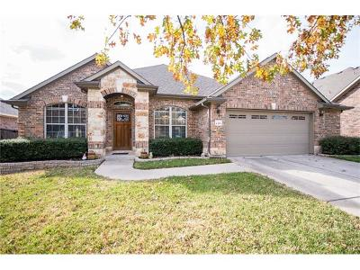 Round Rock Single Family Home For Sale: 4496 Cervinia Dr