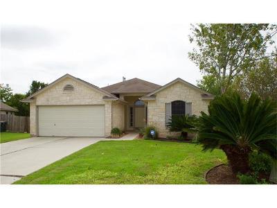 Kyle Single Family Home For Sale: 1061 Knox Cv