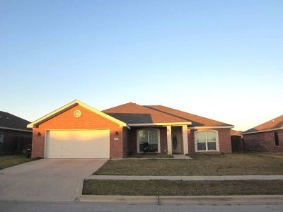 Killeen TX Single Family Home For Sale: $154,500