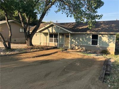 Jonestown Single Family Home Pending - Taking Backups: 10707 W Lakeview Dr