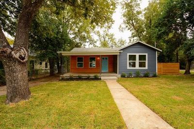 Austin Single Family Home For Sale: 2705 S 2nd St #A