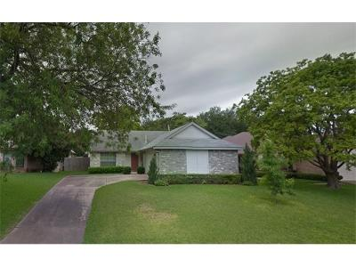 Round Rock Single Family Home Pending: 2308 Windsong Trl