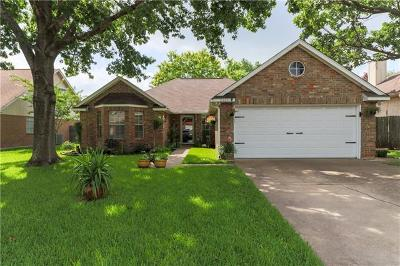 Round Rock Single Family Home Pending - Taking Backups: 2305 Raintree Path