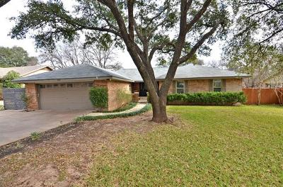 Round Rock Rental For Rent: 1203 Saint Williams Ave