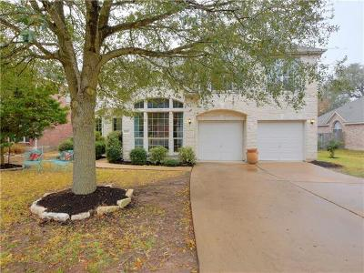 Hays County, Travis County, Williamson County Single Family Home Pending - Taking Backups: 10616 Lord Derby Dr