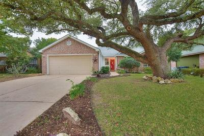 Leander Single Family Home Pending - Taking Backups: 1707 Parkwood Dr