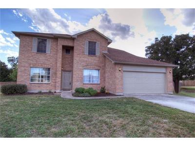 Cedar Creek Single Family Home Pending - Taking Backups: 107 Martin Meadows