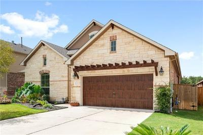 Round Rock Single Family Home For Sale: 3974 Cole Valley Ln