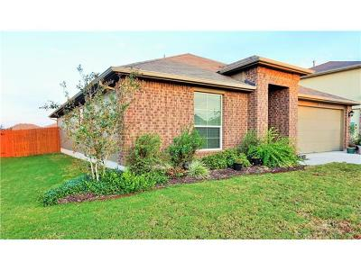 Manor Single Family Home Pending - Taking Backups: 18028 Ryegate Dr