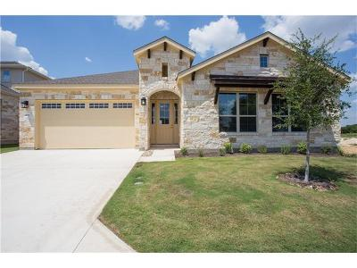 Round Rock Single Family Home For Sale: 3750 E Palm Valley Blvd #105