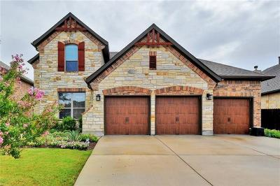 Cedar Park Single Family Home For Sale: 1612 Ambling Trl