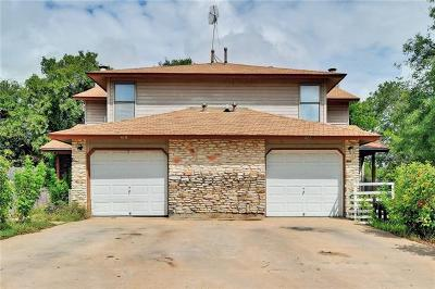 Round Rock Multi Family Home For Sale: 410-412 Parkhill Cv