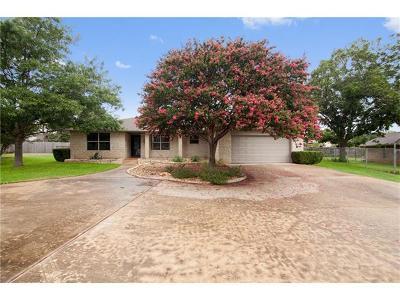 Georgetown Single Family Home For Sale: 106 Spanish Oak Cir