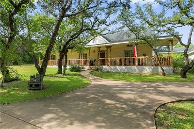 Dripping Springs Single Family Home Active Contingent: 1201 Oak Meadow Dr