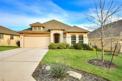 Leander Single Family Home For Sale: 3917 Benetton Way
