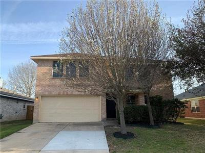 Pflugerville Single Family Home For Sale: 1904 Fast Filly Ave
