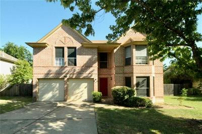 Cedar Park Single Family Home For Sale: 1807 Old Mill Rd
