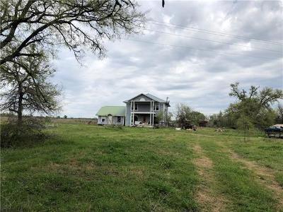 Bastrop County Single Family Home For Sale: 718 Lower Elgin Rd #TBD
