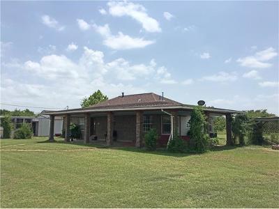 Elgin Single Family Home For Sale: 12212 Ballerstedt Rd