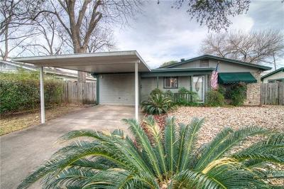 Travis County Single Family Home Pending - Taking Backups: 8303 Hathaway Dr